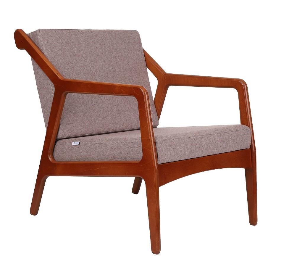 Fotel Retro w tkaninie Clark